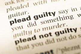 Should I plead guilty Union County NJ attorney near me
